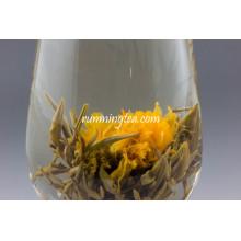 Jing Zai Yin Tang(Marigold altar white blooming tea)
