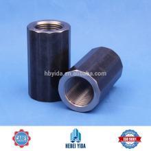 Spleißhülse Stahl Gewinde Rebar Koppler für Zivilbau
