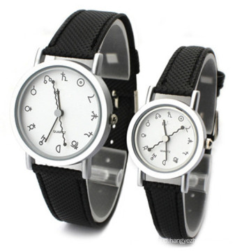 Factory Direct Wholesale Fashion Stainless Steel Couple Watch