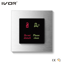 Hotel Doorbell System Indoor Panel Aluminum Alloy Frame (HR-dB1000S2-AL)