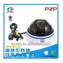 P2P IR-CUT Megapixel Dome CCTV Camera Wifi with TF card