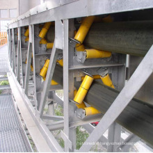 Ske Good Quality Hot Sale Pipe Belt Conveyor for Long Distance Transport and Good Environment Protection