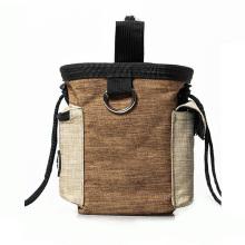 Amazon top selling pet toy waist bag belt bag outside walking storage stuff string seal the pocket waist bag