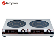 cooktop electric 2 burner
