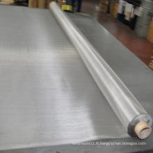 304 316 Tissu métallique tissé inoxydable
