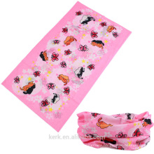 Custom Made Printing Microfiber Seamless Outdoor Sport Neck Tube Scarf Multi Purpose Bandana