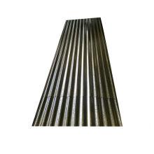 Chapa de acero corrugado para techos de calibre 18, hierro corrugado