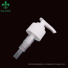 Venta caliente La mejor bomba plástica de la loción cosmética para las botellas cosméticas., Dispensador del jabón de la mano