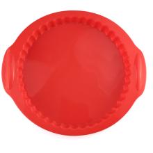 Runde Silikon-Brotlaib-Pizza-Kuchenform