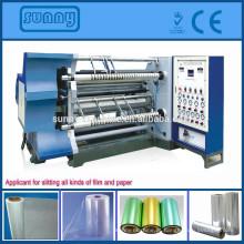GFTW - 1200C máquina cortadora Rebobinadora máquina de corte para todos os tipos de plástico material do rolo