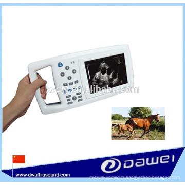 Échographe vétérinaire portatif et ultrason portatif pour des animaux