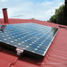 Sistema de montaje del módulo solar del techo del hogar de la teja de la arcilla de la casa