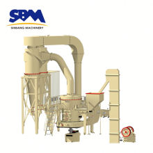 Illite, pyrophyllite, vermiculite application vibrating grinding mill machine for Malaysia