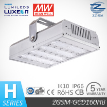 IP66 Aluminium Gehäuse 160W LED Industrial Lager Light mit UL cUL Dlc-CB-GS-Zertifikate