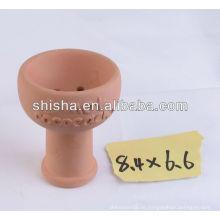Clay Shisha Bowl Ton Schüssel Nargile Shishakopf
