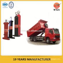 Diferentes cilindros hidráulicos de camiones de volteo