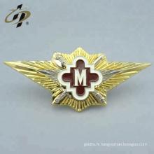 Chine fabricant échantillon gratuit émail doux logo personnalisé or épinglettes en métal