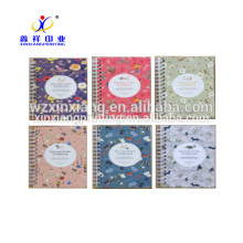 Cute writing spiral school paper notebook