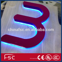 High brightness LED plastic illuminated signs and channel letters on sales