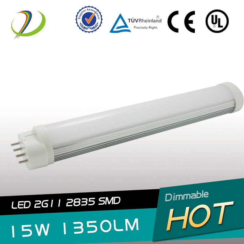 15W 2G11 tube light 4PIN Base