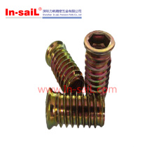 2016 Wholesale Furniture Wood Insert Nut Shenzhen Factory