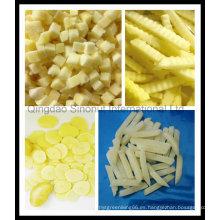 Nuevos patatas congeladas de la cosecha (1 * 1 * 1cm); Patata congelada