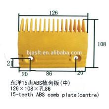 Plaque peinte ABS / pièces escalator