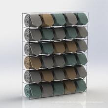Praktischer Acryl Display Stand / Display Rack für Tie Promotion (MDR-038)