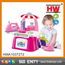 Plastic Pretend Pink Criança Super Dry Cleaning Shop Brinquedo Play
