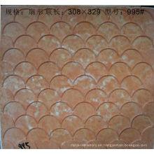 moldes de mosaico de vidrio de mosaico que construyen la materia prima