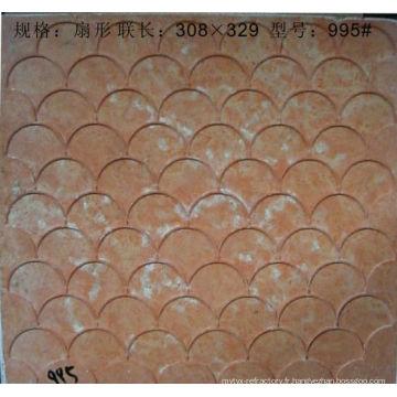 moules de mosaïque de verre de la matière première de construction de mosaïque