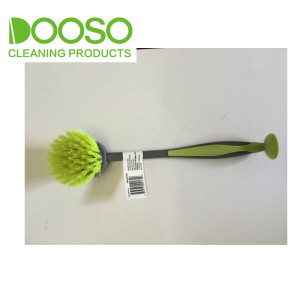 Quick Scrub and Shine With Suction Cup Brush