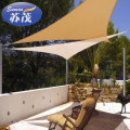 Professional sun shade sail patio awning awned quality waterproof cloth sail with low price