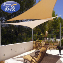 New design plastic sun shade sail for roof and swimming pool with low price