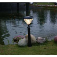 Super bright LED design solar garden light