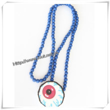 Yiwu Jewelry Factory Wholesale Necklace Wood Pendant (IO-wn007)