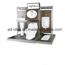 Acg-56 Supermarket/Store Retail Metal Display for Bathroom Suite Promotion