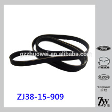 Cinturón auto resistente V del alternador para Mazda 2 DE ZJ38-15-909C