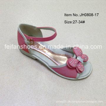 Neue Art-Sommer-süße Mädchen-Schuhe scherzt Pantoffel-Sandelholze (JH0808-17)