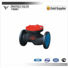 Swing start sewage check valve for diesel