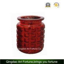 Glass Candle Jar for Christmas Decoration