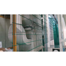 galvanized powder coated 8/6/8 double wire mesh fence