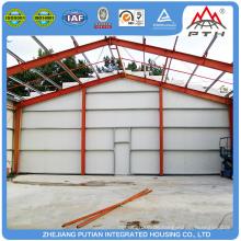 Moderne winzige Glaswolle Isolierung Stahl Struktur