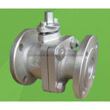 JIS 5k/10k/20k 2PCS Flanged Floating Ball Valve (Q41F)