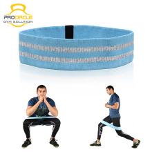 Banda de resistencia del círculo de la cadera de nylon de seda Procircle
