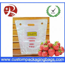 Pp Portable Fruit Packing Bag With Perforation And Hanger Hole