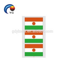 2018 Tatuaje Temporal Bandera Nacional Copa del Mundo Juego de Fútbol Cara Compone el Cuerpo Tatoo