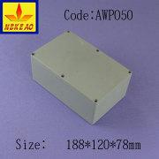 caja de aluminio de fundición del metal de hoja