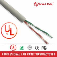 Cable CCA Cat3 2pairs lan de alta velocidad con 26awg