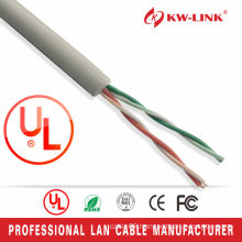 high speed CCA Cat3 2pairs lan cable with 26awg